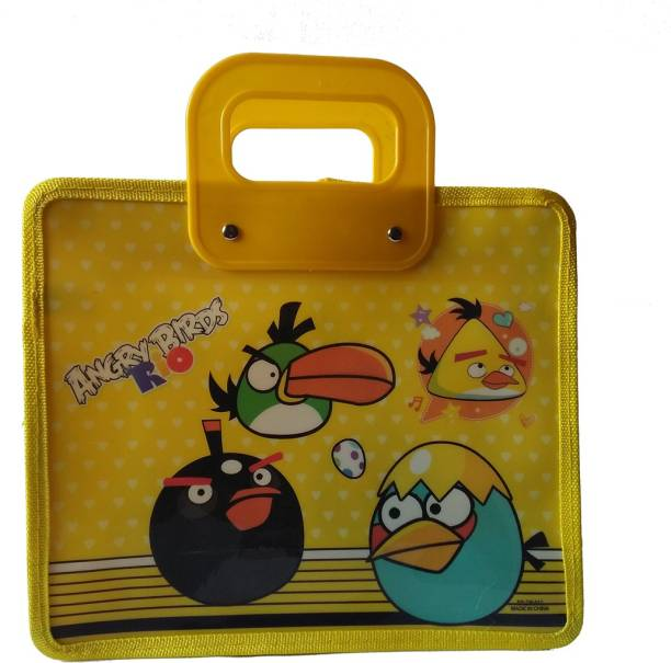 Shopx Angry Birds Yellow Waterproof Lunch Bag