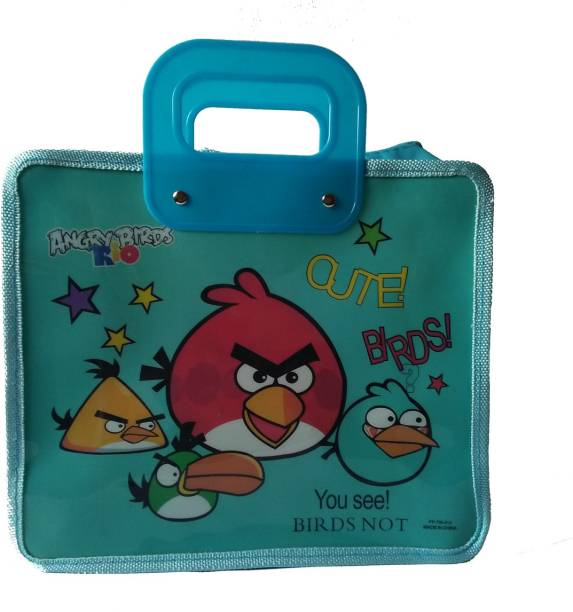 Shopx Angry Birds Blue Waterproof Lunch Bag
