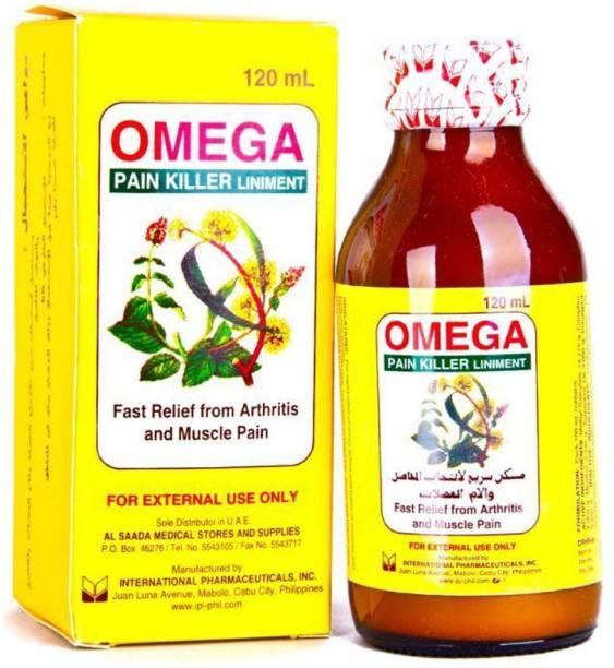 omega Pain Killer Liniment Oil Liquid