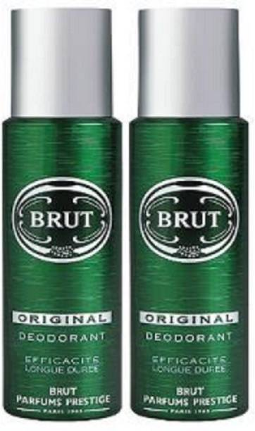 BRUT Imported Original Deodorant (200 ml + 200 ml) Deodorant Spray  -  For Men