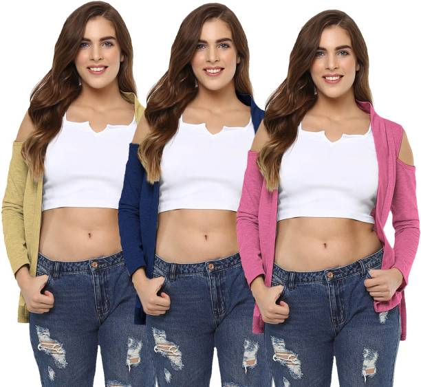 f78d75840412f0 Womens Shrugs - Buy Womens Shrugs Online at Best Prices In India ...