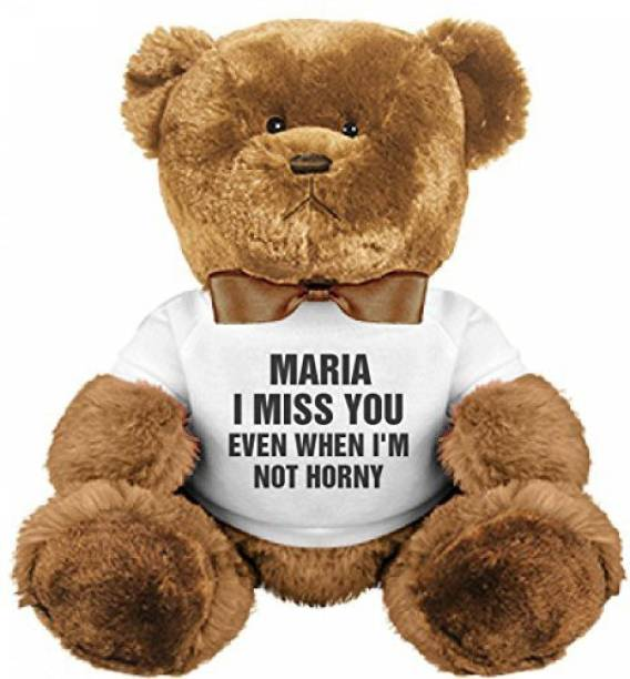 189bd721e87 Funnyshirts Org Maria I Miss You Even When I m Not Horny Plush - 8