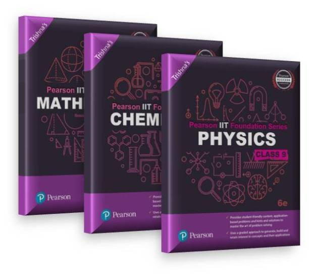Pearson IIT Foundation Series for Class 9 (Set of 3)