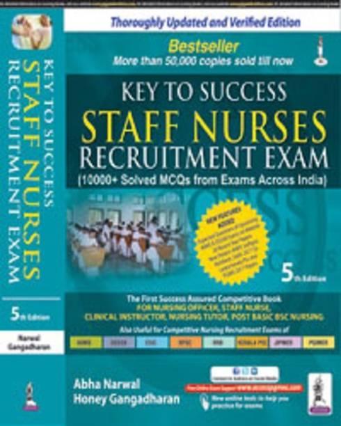 Key to Success Staff Nurses Recruitment Exam - key to success