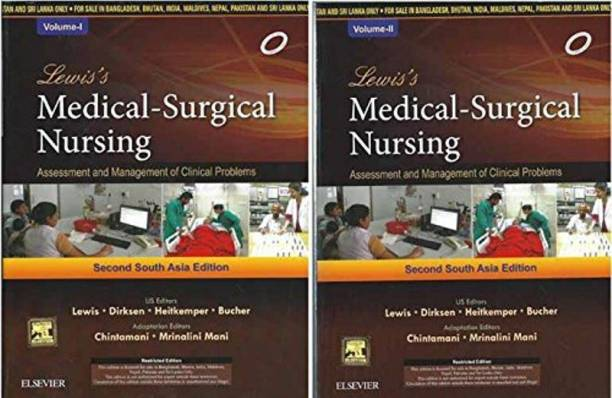 Medical books buy medical books online at best prices indias lewiss medical surgical nursing assesment and management of clinical problems 2 vol set 2 fandeluxe Gallery