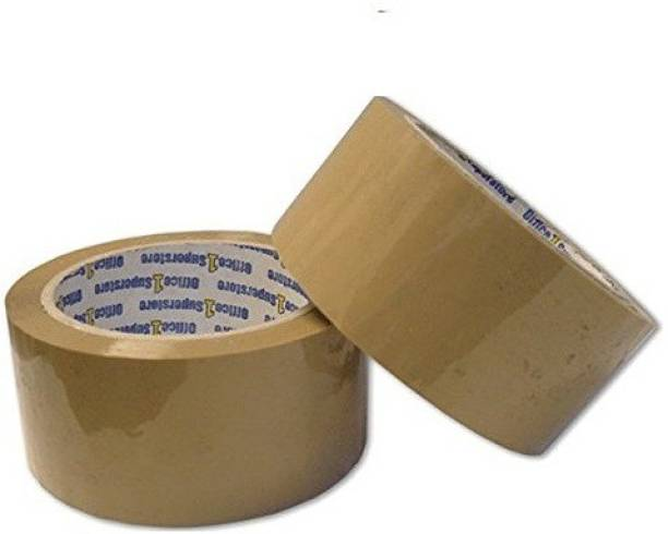 Hippo Brown self Adhesive 2 inch or 50mm x 65 metres Packing tape (Manual)