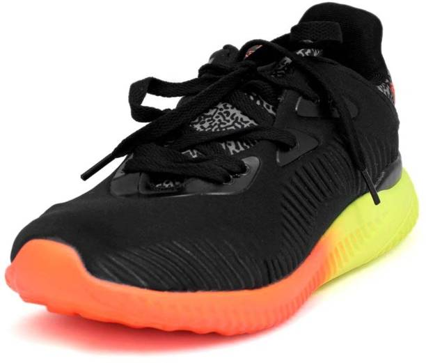 Max Air 8825 Black Green Running Shoes For Men