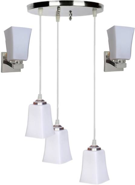 Ceiling lights buy ceiling lights or hanging lights online at best nogaiya ceiling lamp with classy set of 2 wall lamps pendants ceiling lamp mozeypictures Choice Image