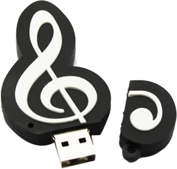 49537f75c13 Microware Sheet Music Tweeter 8 GB Pen Drive