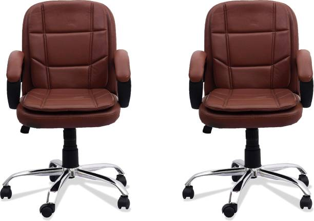 DZYN FURNITURES Leatherette Office Executive Chair