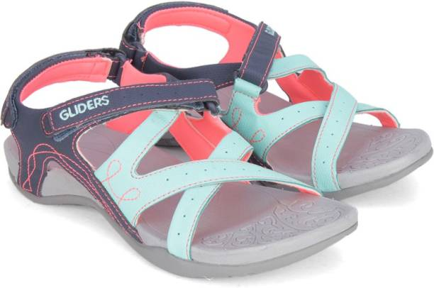 A-HA By Liberty Women S.BLUE Sports Sandals