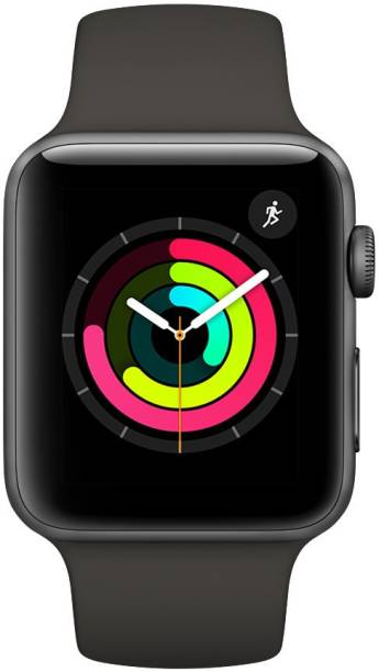 APPLE Watch Series 3 GPS - 38 mm Space Grey Aluminium Case with Grey Sport Band