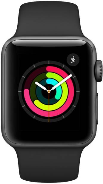 APPLE Watch Series 3 GPS - 42 mm Space Grey Aluminium Case with Grey Sport Band