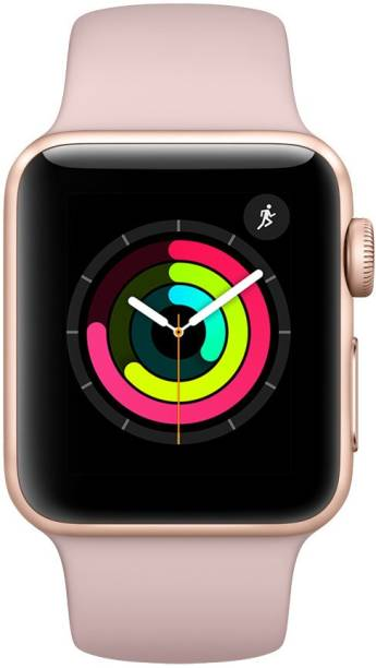 APPLE Watch Series 3 GPS - 42 mm Gold Aluminium Case with Pink Sand Sport Band
