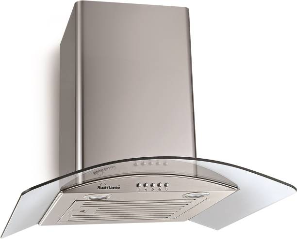 SUNFLAME TULIP 60 SS BF Wall and Ceiling Mounted Chimney