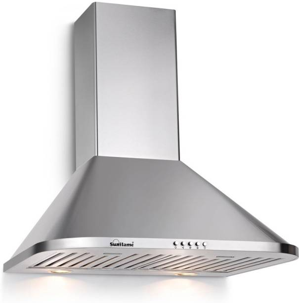 SUNFLAME MATRIX 60 SS BF Wall and Ceiling Mounted Chimney