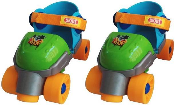 RIANZ All New Super Roller Skates for Kids (Size UK 5 -11) Skates & Skateboard