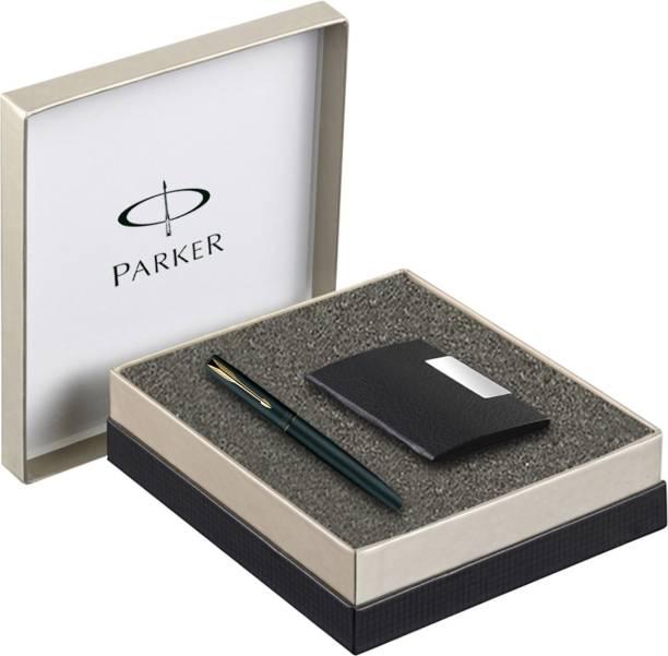 Parker Frontier GT Roller Ball Pen with Card Holder