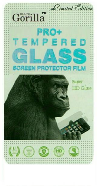 BLACK GORILLA Tempered Glass Guard for MICROMAX CANVAS SPARK 2 Q334