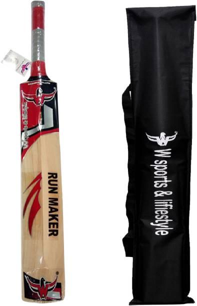 "e7e119d6c3e W sports   lifestyle W sports ""Run Maker"" Kashmir Willow Bat (Sarawak full"