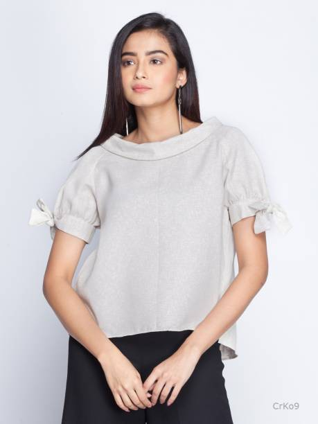 78b0095e235 Puff Sleeve Tops - Buy Puff Sleeve Tops Online at Best Prices In ...