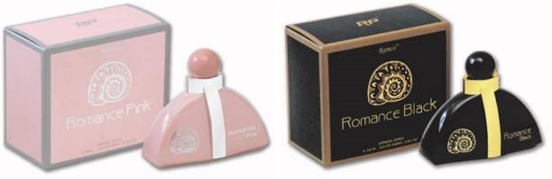 RAMCO Exotic Romance Pink and Black Combo Perfume Eau de Parfum  -  200 ml
