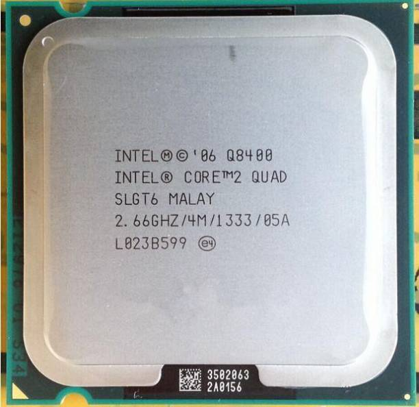 Intel Q8400 2.66 GHz LGA 775 Socket 4 Cores Desktop Processor