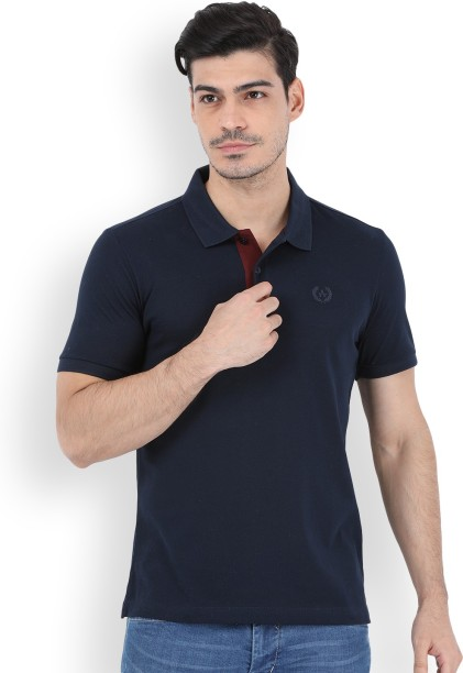 Arrow Sport Solid Men\u0027s Polo Neck T-Shirt