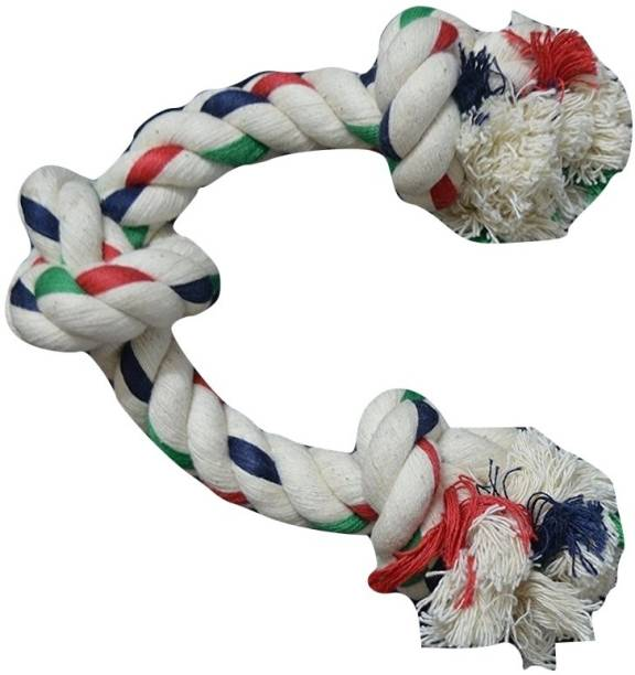 FOODIE PUPPIES Jute Tug Toy For Dog