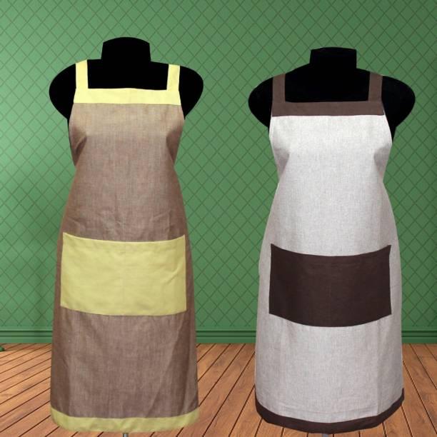 HOME ROYAL Cotton Home Use Apron - Free Size