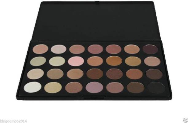 Imported Professional 28 Color Eye Shadow Palette Makeup Set, Neutral Warm Shades Range 200 g