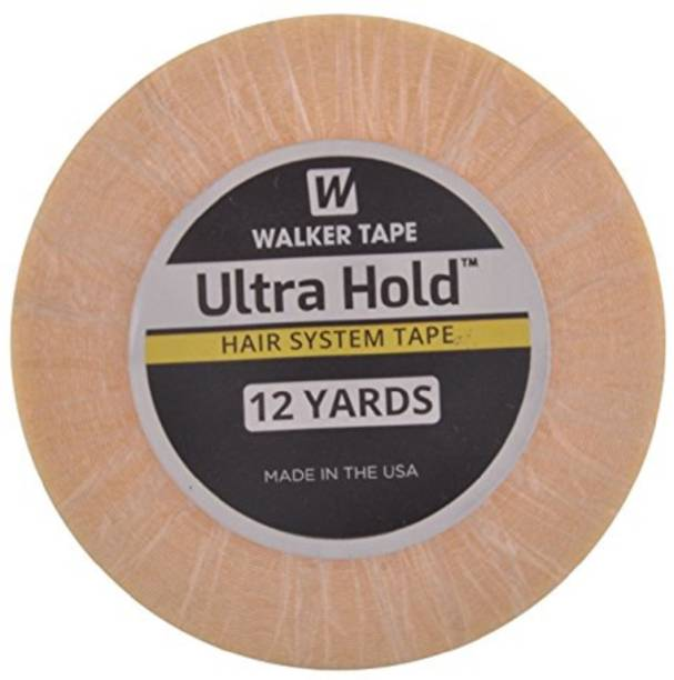 """WALKER TAPE Ultra Hold Hair System Tape 3/4"""" 12 yard Roll Double Sided Adhesive Tape Hair Wax"""
