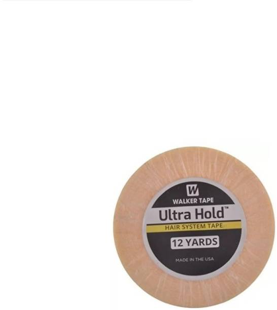 """walker Ultra Hold Hair System Tape 3/4"""""""" 12 yard yard Roll Double Sided Adhesive Tape Hair Gel"""