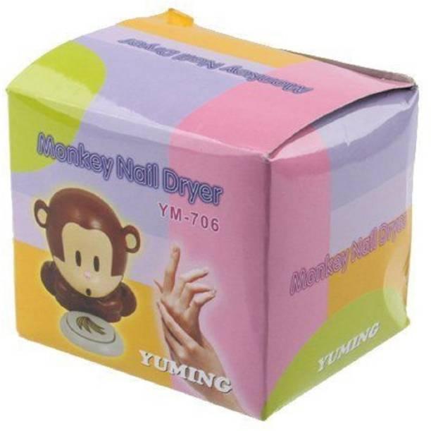 Imported Cute Monkey Shaped Nail Polish Finger Toe Nail Art Tip Polish Blower Dryer Nail Polish Dryer