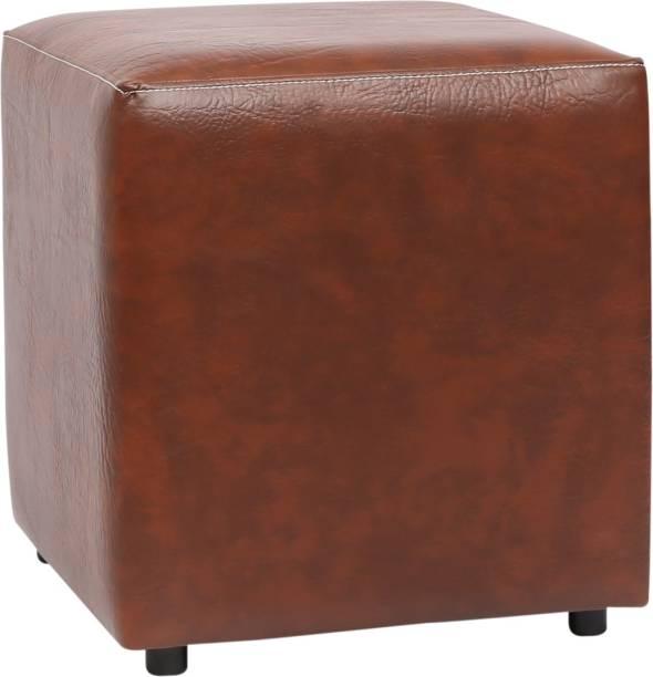 Siwa Style Leatherette Cube Ottoman