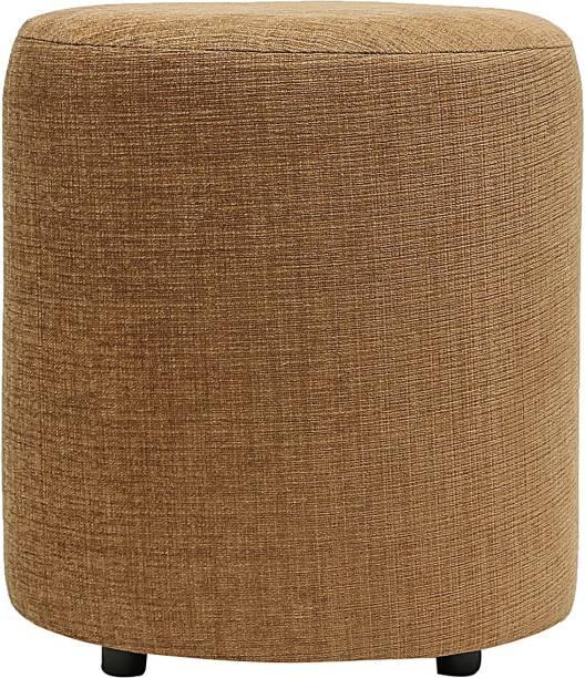 Siwa Style Solid Wood Pouf