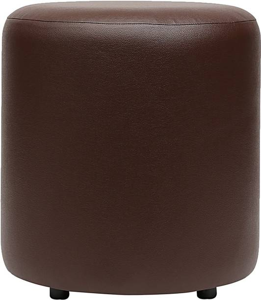 Columbus First Furniture Leatherette Pouf