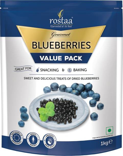 rostaa Dried Blueberries Blueberry