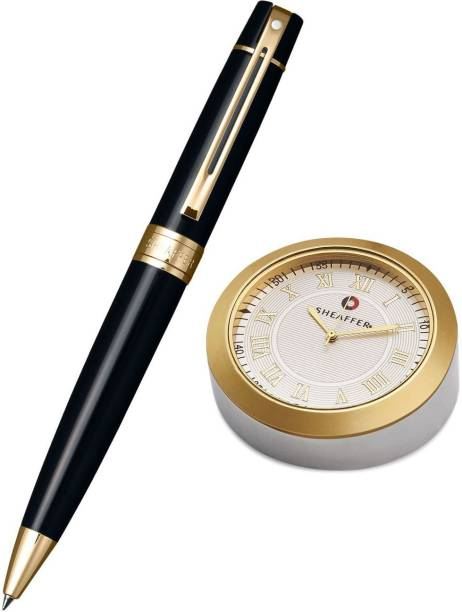SHEAFFER 9325 Table Clock with Ball Pen