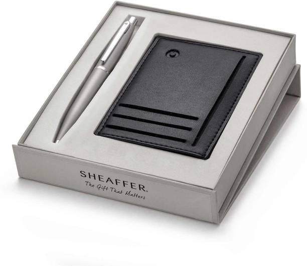 SHEAFFER VFM 9400 Gift Set Card Holder With Ball Pen