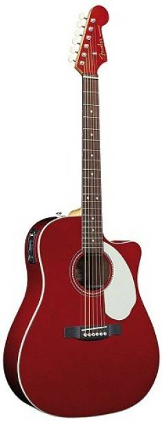 FENDER Fender Sonoron SCE Red Semi-acoustic Guitar Spruce Rosewood Right Hand Orientation