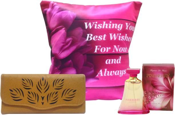 Natali Traders Cushion, Perfume Gift Set