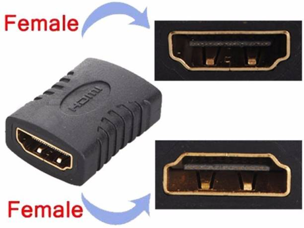 Generix HDMI Female to Female Gender Changer Connector 0.02 m HDMI Cable