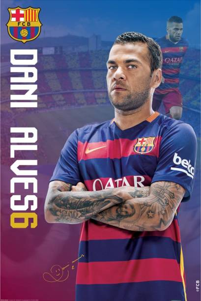cd0495ca5 Fc Barcelona Posters - Buy Fc Barcelona Posters Online at Best ...