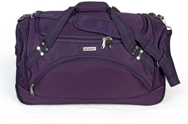 1464eafb86c8 JOURNEY9 Small Travel Bag Polyester 55 cm Purple Softsided Travel Duffle  Small Travel Bag