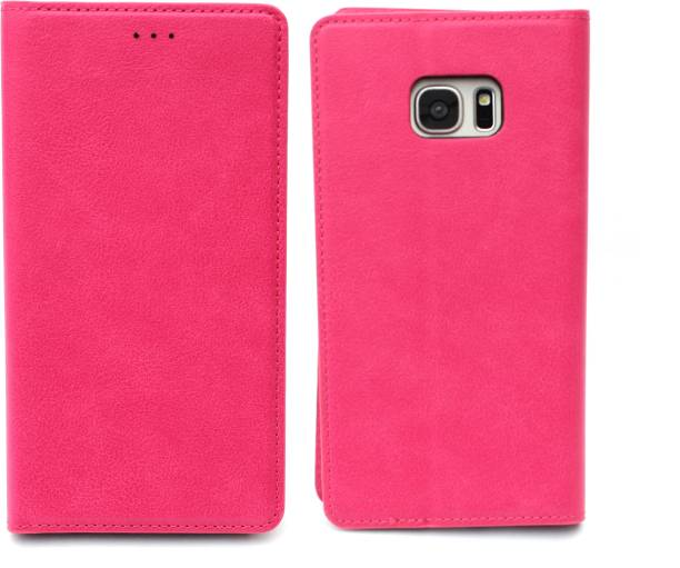 Fashion Flip Cover for Samsung Galaxy S7 Edge