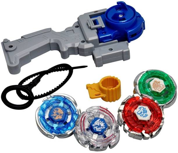 Tingoking Tingoking Beyblades Metal Fighter Fury with Metal Fight Ring and Handle Launcher
