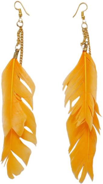 272bd4a89 Feather Earrings - Buy Feather Earrings online at Best Prices in ...