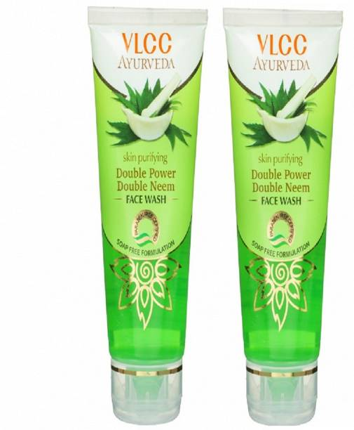 VLCC Ayurveda Skin Purifying Double Power Double Neem Face Wash