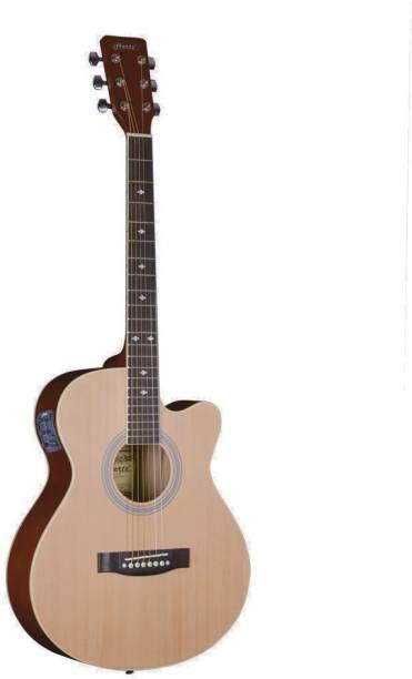 Hertz HZA-5200 (NATURAL) SEMI Semi-acoustic Guitar Linden Wood Rosewood